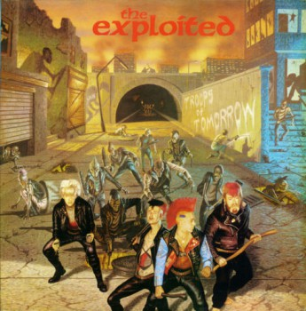 The Exploited – Troops Of Tomorrow LP