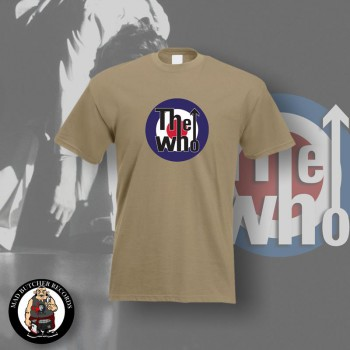 THE WHO TARGET T-SHIRT XL / BEIGE