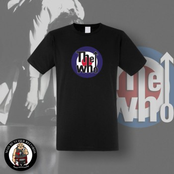 THE WHO TARGET T-SHIRT SCHWARZ / S