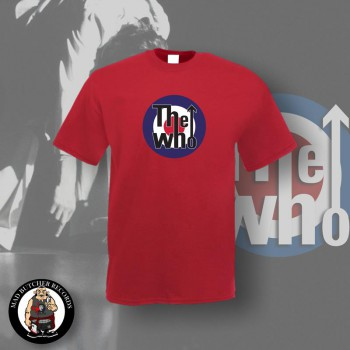 THE WHO TARGET T-SHIRT S / ROT