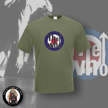 THE WHO TARGET T-SHIRT M / OLIVE