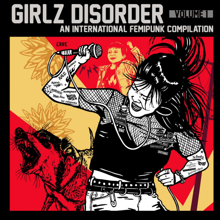 V/A – Girlz Disorder Volume 1 LP+CD