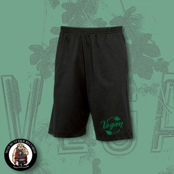 VEGAN LEAF SHORTS