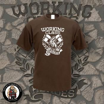 WORKING CLASS HEROES T-SHIRT XL / brown