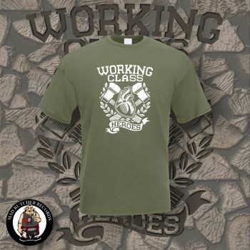 WORKING CLASS HEROES T-SHIRT XL / OLIVE
