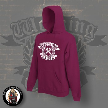 WORKING CLASS HAMMERS HOOD XXL / BORDEAUX RED