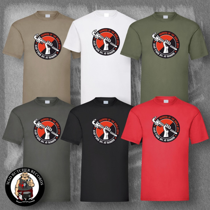 WORKERS OF THE WORLD UNITE T-SHIRT