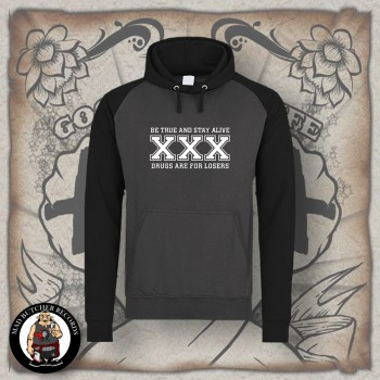 STRAIGHT EDGE CONTRAST HOOD