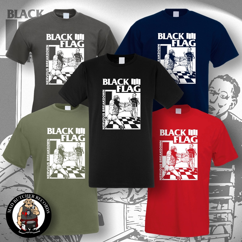 DEAD KENNEDYS PUNK ROCK T-SHIRT black flag exploited crass S-3XL
