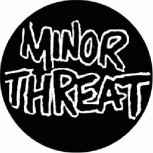 MINORS THREAT - Logo b/w