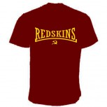 REDSKINS FLOCK T-SHIRT ROT