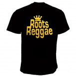 ROOTS REGGAE T-SHIRT SCHWARZ
