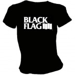 Black Flag - Balken T-Shirt