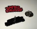 UNITED STRUGGLE LOGO PIN