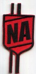 NERD ACADEMY LOGO RED PATCH