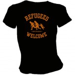 REFUGEES WELCOME GIRLIE SCHWARZ