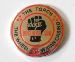 THE TORCH,THE WHEEL,WIGAN CASINO MAGNET