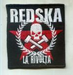 REDSKA LA RIVOLTA PATCH