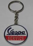 VESPA SERVICE KEYRING