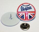 VESPA MOD/UNION JACK PIN