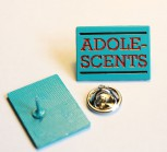ADOLESCENTS PIN BLUE