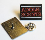 ADOLESCENTS PIN BLACK