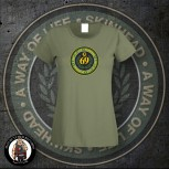SKINHEAD A WAY OF LIFE GIRLIE XL / OLIVE