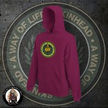 SKINHEAD A WAY OF LIFE HOOD XXL / BORDEAUX RED
