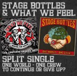 STAGE BOTTLES/WHAT WE FEEL SPLIT EP