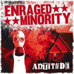 ENRAGED MINORITY ANTITUDE LP (rotes vinyl)