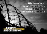 STOPPT ABSCHIEBUNG! AUFKLEBER (10 Stück)