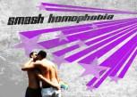 SMASH HOMOPHOBIA AUFKLEBER (10 STÜCK)