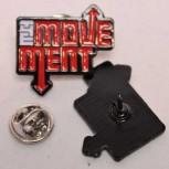 THE MOVEMENT NEW LOGO PIN