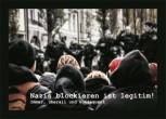 NAZIS BLOCKIEREN IST LEGITIM AUFKLEBER (10 Stück)