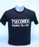 7 SECONDS YOUNG TIL I DIE T-SHIRT