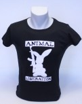 ANIMAL LIBERATION RABBIT GIRLIE