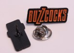BUZZCOCKS ORANGE PIN