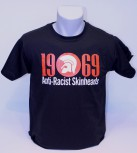 ANTI RACIST SKINHEADS 1969 T-SHIRT