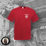 7 SECONDS LOGO SMALL T-SHIRT red / 5XL