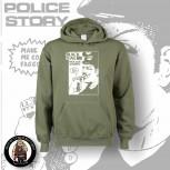 BLACK FLAG POLICE STORY KAPU XL / OLIVE