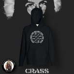 CRASS JESUS DIED FOR HIS OWN SINS HOOD XL
