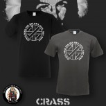 CRASS JESUS DIED FOR HIS OWN SINS T-SHIRT