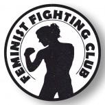FEMINIST FIGHTING CLUB PVC AUFKLEBER