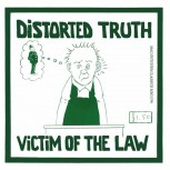 DISTORTED TRUTH VICTIM OF THE LAW EP VINYL SCHWARZ