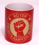 ROTER FRONTKÄMPFERBUND KAFFEEBECHER