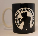 FEMINIST FIGHTING CLUB KAFFEEBECHER