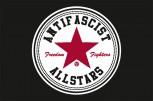 ANTIFASCIST ALLSTARS FLAGGE