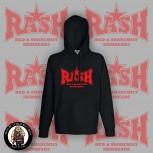 RASH RED/BLACK STAR HOOD