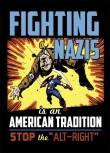 FIGHTING NAZIS (STOP ALT-RIGHT) STICKER (10 Stück)