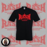 RASH RED/BLACK STAR T-SHIRT